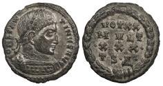 Ancient Coins - Constantine I 307-337 A.D. Follis Thessalonica Mint EF