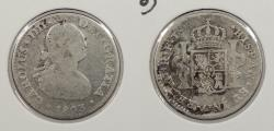 World Coins - MEXICO: 1803-Mo FT Charles IV Real