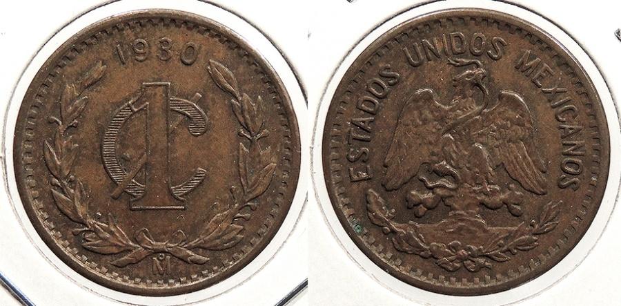 World Coins - MEXICO: 1930-Mo Centavo