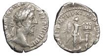 Ancient Coins - Commodus 177-192 A.D. Denarius Rome Mint VF