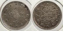 World Coins - TURKEY: Edirne mint AH1327 Y2 (1911) 2 Kurush