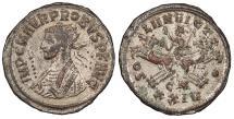Ancient Coins - Probus 276-282 A.D. Antoninianus Cyzicus Mint EF