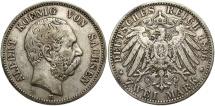 World Coins - GERMANY: Saxony 1896 E 2 Mark
