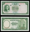 World Coins - CHINA Bank of China 1937 Ten Yuan UNC