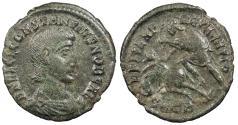 Ancient Coins - Constantius Gallus, as Caesar 351-354 A.D. Follis Cyzicus Mint VF