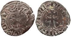 World Coins - SPAIN Aragon Pere III (Pedro IV de Aragon) 1336-1387 Dinero (Diner) Near EF