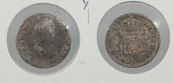World Coins - MEXICO: 1817-Mo JJ Ferdinand VII 1/2 Real