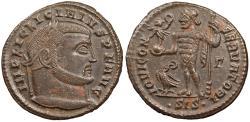 Ancient Coins - Licinius I 308-324 A.D. Follis Siscia Mint Good VF