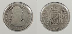 World Coins - MEXICO: 1807-Mo TH Charles IV Real