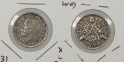 World Coins - GREAT BRITAIN: 1934 Threepence