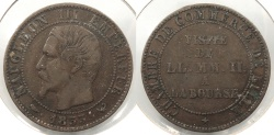 World Coins - FRANCE: 1853-W Medal