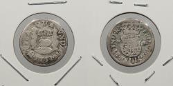 World Coins - MEXICO: 1751-Mo M 1/2 Real