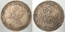 World Coins - GERMAN STATES: Prussia 1914-A 3 Mark