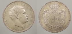 World Coins - PORTUGAL: 1899 1000 Reis