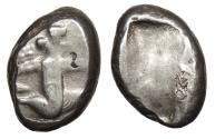 Ancient Coins - Achaemenid Kings Time of Artaxerxes II to Artaxerxes c. 375-340 B.C. Siglos Good Fine
