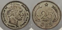 World Coins - DENMARK: 1904 25 Øre