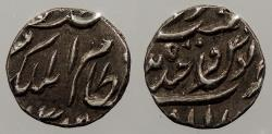 World Coins - INDIAN PRINCELY STATES: Hyderabad AH 1309 (1891-1892) 1/8 Rupee