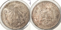 World Coins - MEXICO: 1922-M Peso