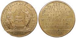 World Coins - AUSTRIA 1800 Brass 32mm Jeton BU