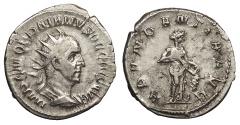 Ancient Coins - Trajan Decius 249-251 A.D. Antoninianus Rome Mint Good VF