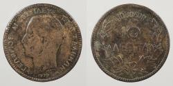World Coins - GREECE: 1879-A Paris mint. 10 Lepta