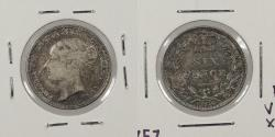 World Coins - GREAT BRITAIN: 1886 Sixpence