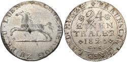 World Coins - GERMANY: Brunswick-Wolfenbuttel 1825 1/24 Thaler
