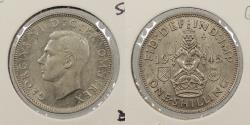 World Coins - GREAT BRITAIN: 1945 Shilling