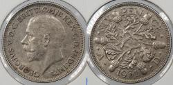 World Coins - GREAT BRITAIN: 1931 George V Sixpence