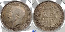 World Coins - GREAT BRITAIN: 1918 George V Halfcrown