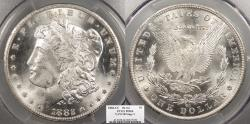 Us Coins - 1882 CC Morgan 1 Dollar (Silver) VAM 2B Stage 3 PCGS MS-64