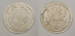 World Coins - AUSTRIA: 1806-A 20 Kreuzer