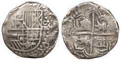 World Coins - BOLIVIA Philip III 1598-1621 4 Reales VF