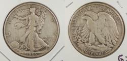 Us Coins - 1936-D Walking Liberty 50 Cents (Half Dollar)