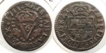World Coins - SPAIN: Valencia 1711-FV Seiseno