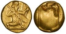 Ancient Coins - Achaemenid Kings Time of Darios I-Xerxes II 485-420 B.C. Daric EF
