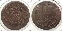 World Coins - GERMAN STATES: Osnabruck 1726-IW 3 Pfennig