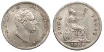 World Coins - GREAT BRITAIN British Guiana William IV 1836 Groat (4 Pence) UNC