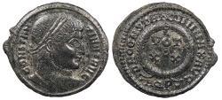 Ancient Coins - Constantine I, the Great 307-337 A.D. Follis Aquileia Mint Good VF