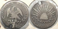 World Coins - MEXICO: 1848-Zs OM 2 Reales