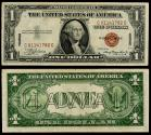 Us Coins - Treasury 1935-A Silver certificate Dollar VF