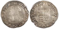 World Coins - ENGLAND Mary 1553-1554 Groat VF