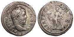 Ancient Coins - Geta 209-212 A.D. Denarius Rome Mint Good VF