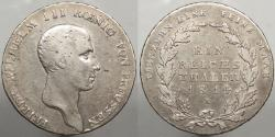 World Coins - GERMAN STATES: Prussia 1814-A Thaler (Talar)