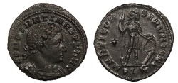 Ancient Coins - Constantine I 307-337 A.D. Follis Londinium Mint Choice EF