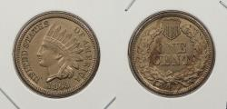 Us Coins - 1863 Indian Head 1 Cent