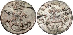 World Coins - GERMAN STATES: Saxe-Weimar-Eisenach 1756 6 Pfennig