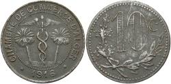World Coins - ALGERIA: 1916 10 Centimes Token