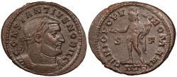 Ancient Coins - Constantius I, as Caesar 293-305 A.D. Follis Trier Mint Good VF
