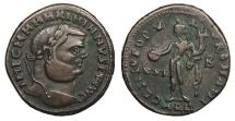 Ancient Coins - Maximianus 286-305 A.D. Follis Alexandria Mint Good VF